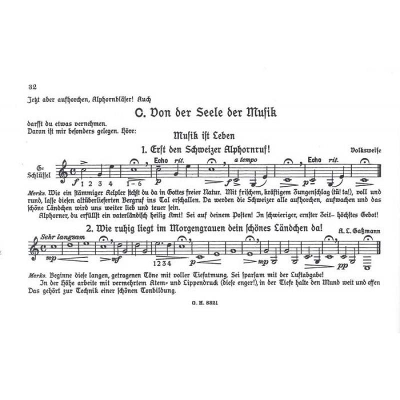 Alphorn Weihnachtslieder.S Alphornbüechli Op 106