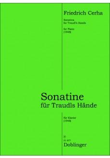 Sonatine für Traudls Hände