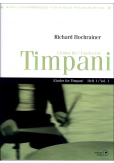 Etüden für Timpani Heft 1