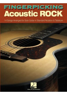 Fingerpicking Acoustic Rock Tab Book
