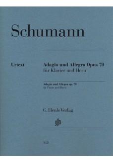 Adagio und Allegro op. 70 für Klavier und Horn