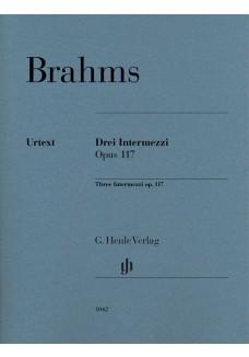 Drei Intermezzi Opus 117