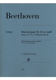 Klaviersonate Nr. 14 cis-moll Opus 27 Nr.2 (Mondsc