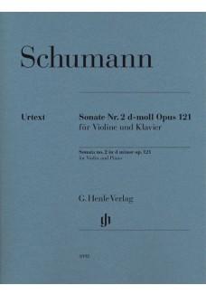 Sonate Nr. 2 d-moll op. 121 für Violine und Klavie