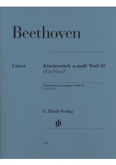 Klavierstück a-moll WoO 59 Für Elise