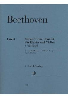 Sonate für Klavier und Violine F-dur op. 24 [Frühl