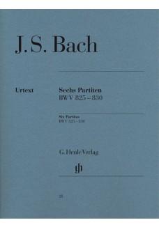 Sechs Partiten BWV 825-830
