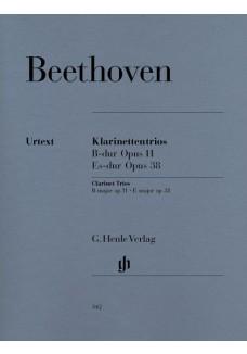 Klarinettentrios B-dur op. 11 und Es-dur op. 38