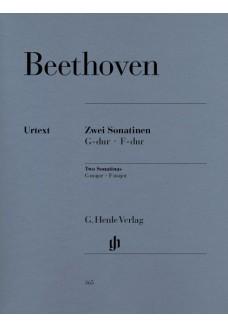 2 Sonatinen für Klavier F-dur und G-dur (Anhang 5)