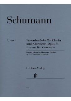 Fantasiestücke für Klavier und Klarinette (oder Vi