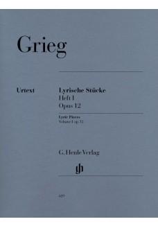 Lyrische Stücke Heft I, op. 12