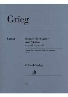 Sonate für Klavier und Violine c-moll op. 45