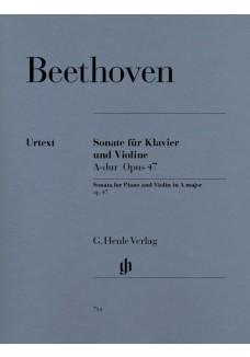 Sonate für Klavier und Violine A-dur op. 47 (Kreut