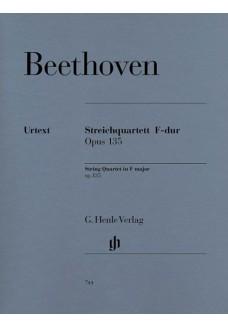 Streichquartett F-dur op. 135