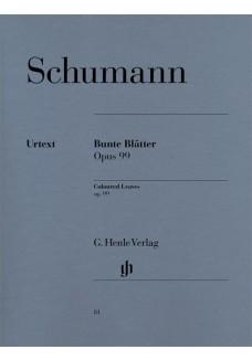 Bunte Blätter op. 99