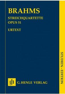 Streichquartette c-moll und a-moll op. 51