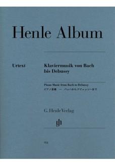 Klaviermusik von Bach bis Debussy
