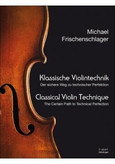 Klassische Violintechnik