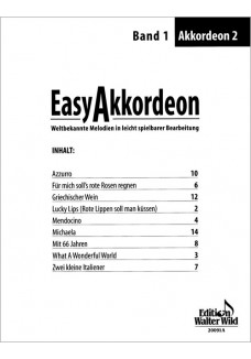 Easy Akkordeon Band 1