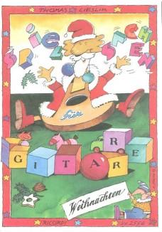 Spielsachen für Gitarre - Weihnachten