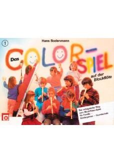 Colorspiel auf der Blockflöte, Bd. 1