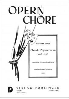 Chor der Zigeunerinnen (Wir sind Zigeunermädchen)