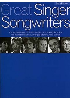 Great Singer Songwriters - Male Edition Pvg Book