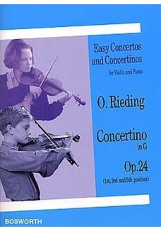 Concertino G-Dur op. 24