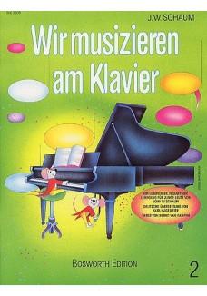 Wir Musizieren Am Klavier, Bd. 2