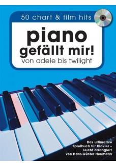 Piano gefällt mir! 50 Chart und Film Hits - Band 1