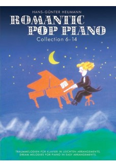 Romantic Pop Piano Collection 6-14 Klavier (leicht