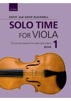 Solo Time for Viola Book 1