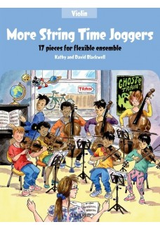 More String Time Joggers Violin Book