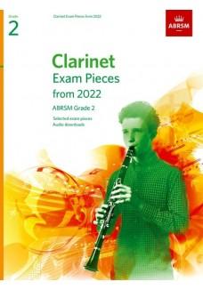 Clarinet Exam Pieces from 2022, ABRSM Grade 2