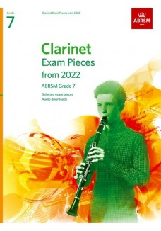 Clarinet Exam Pieces from 2022, ABRSM Grade 7