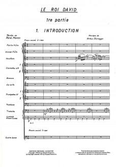 Roi David (Dramatische Version 1921)