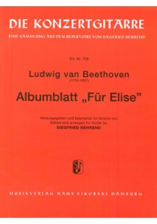 Albumblatt Für Elise