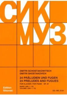 24 Präludien und Fugen op. 87/ 1-12