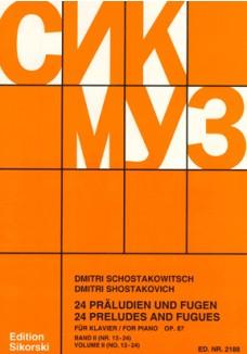 24 Präludien und Fugen op.87-  Band 2
