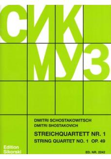 Streichquartett Nr. 1 op.49