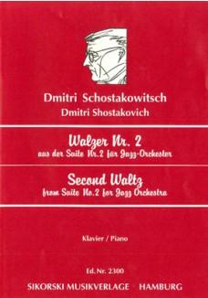 Walzer Nr. 2 aus der Suite Nr. 2 für Jazz-Orchest