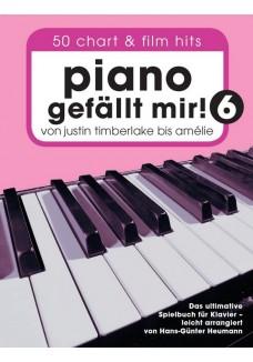 Piano gefällt mir! 50 Chart und Film Hits - Band 6