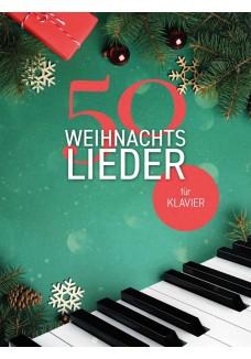 50 Weihnachtslieder für Klavier