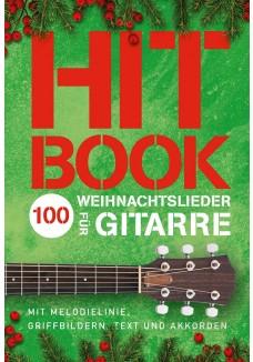 Hitbook - 100 Weihnachtslieder für Gitarre