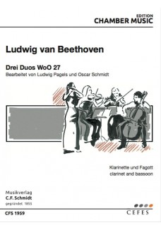 Drei Duos WoO 27