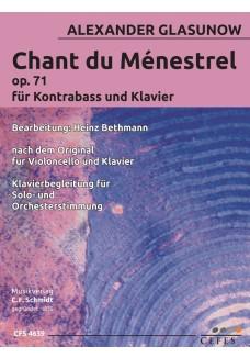 Chant du Ménestrel op. 71