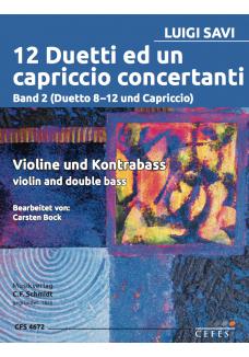 12 Duetti ed un capriccio concertanti Band 2
