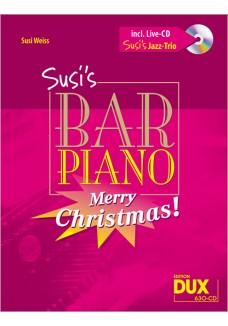 Susis Bar Piano - Merry Christmas mit CD