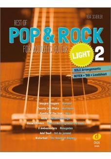 Best of Pop & Rock for Acoustic Guitar light 2