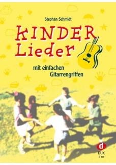 Kinderlieder mit einfachen Gitarrengriffen